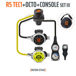 Tecline Regulator R5 TEC1 set III with octo and 3 elements console - EN250A