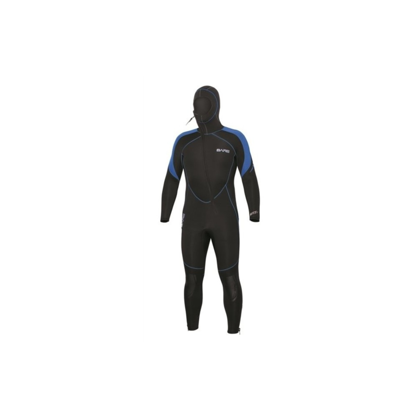Bare 7mm Sport S-Flex Hooded Full Blue - Men