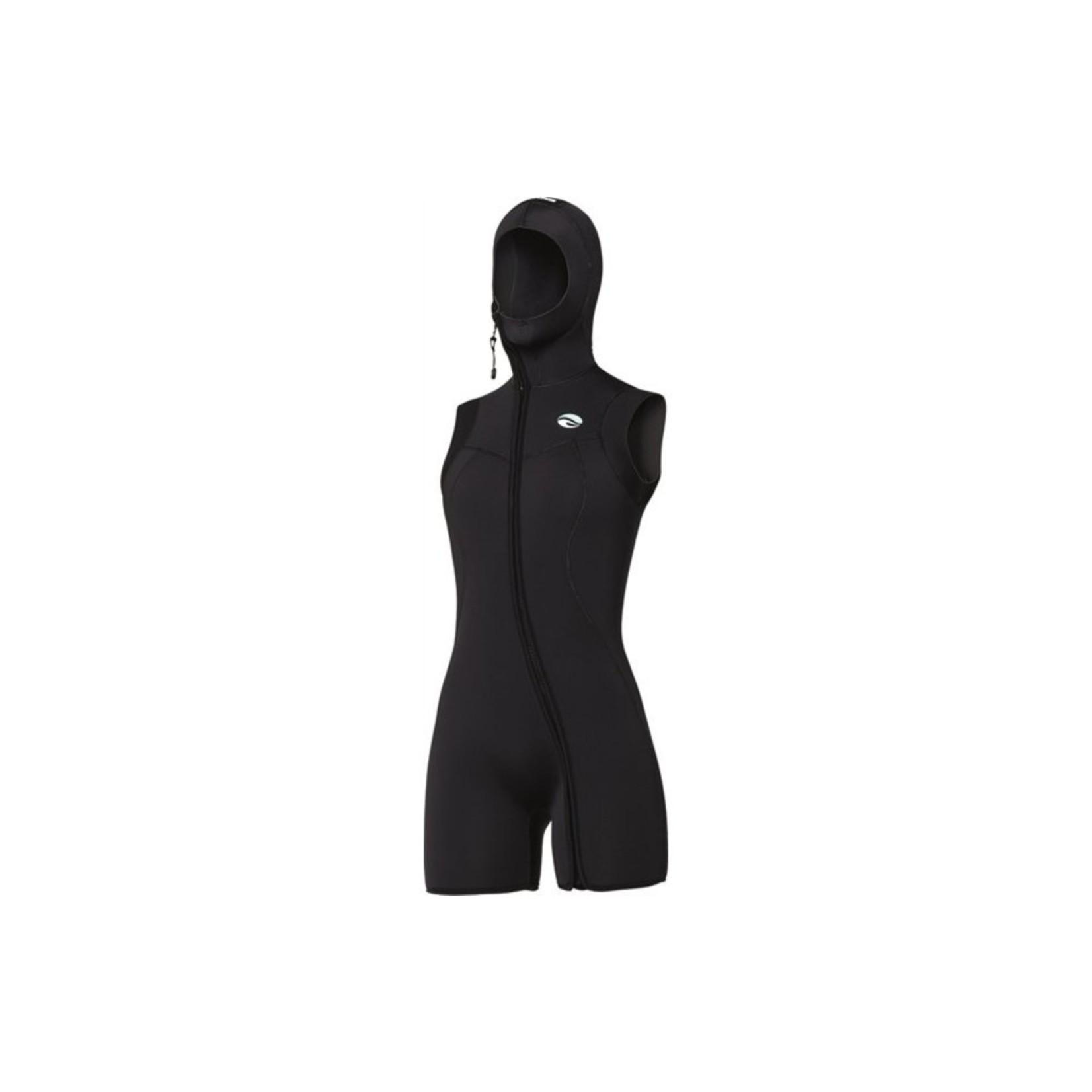 Bare 7mm Nixie S-Flex Step-In Hooded Vest Black - Women