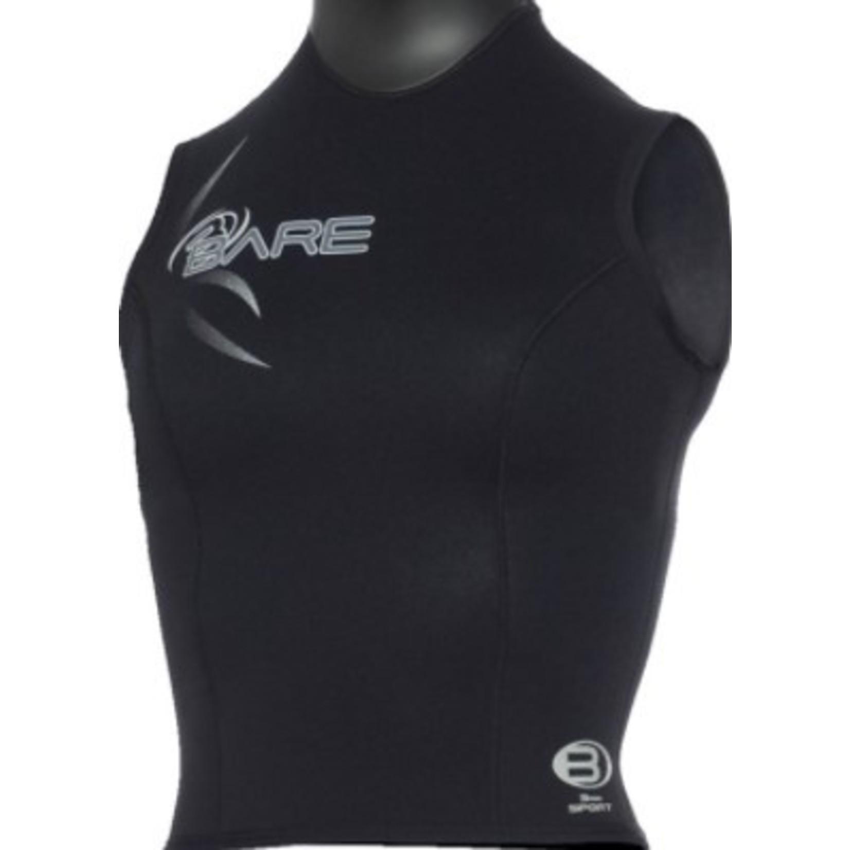 Bare 3mm Sport Vest Black - Women
