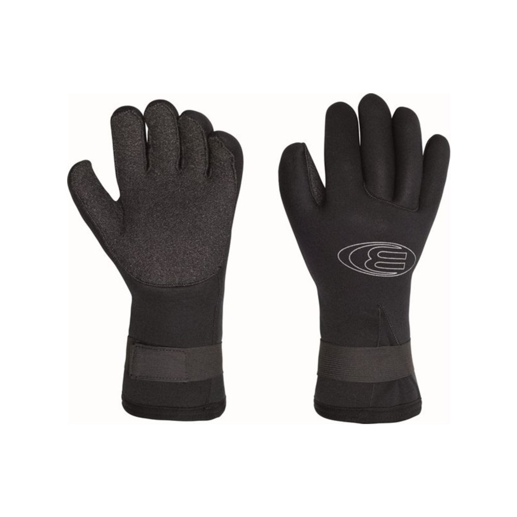 Bare 5mm Coldwater Handschoenen Kevlar Palm