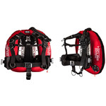 """Tecline Donut 22 Special Edition red, with Comfort Harness, weight pocket and backplate soft pad """"H"""""""
