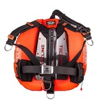 Tecline Donut 22 Special Edition orange, Carbon backplate with DIR harness and weight pockets