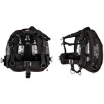 """Tecline Donut 22 Special Edition black, with Comfort Harness, weight pocket and backplate soft pad """"H"""""""