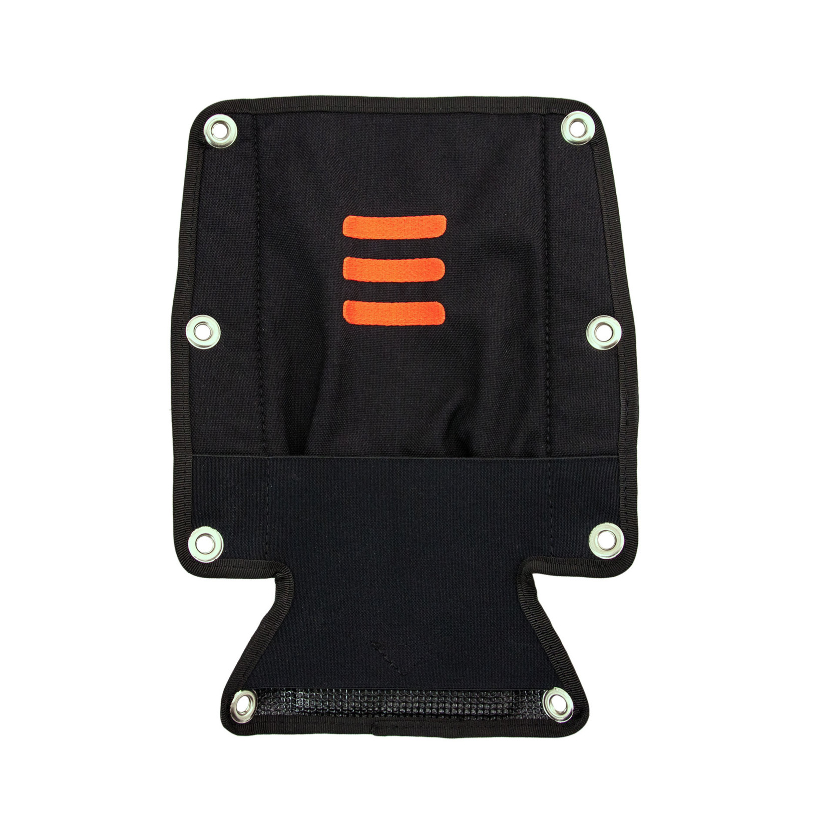 Tecline Backplate soft pad with buoy pocket - without bolts and nuts