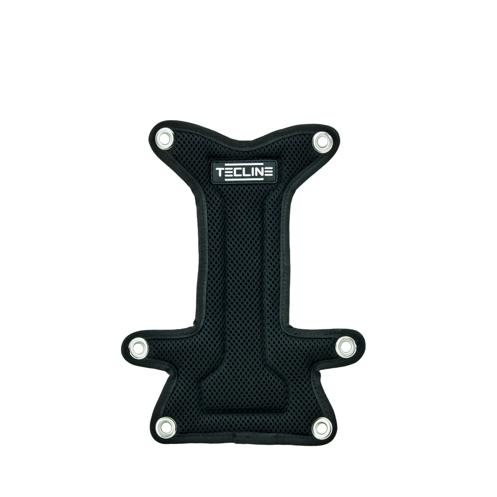 """Tecline Backplate soft pad """"H"""" MINI with buoy pocket - without bolts and nuts"""