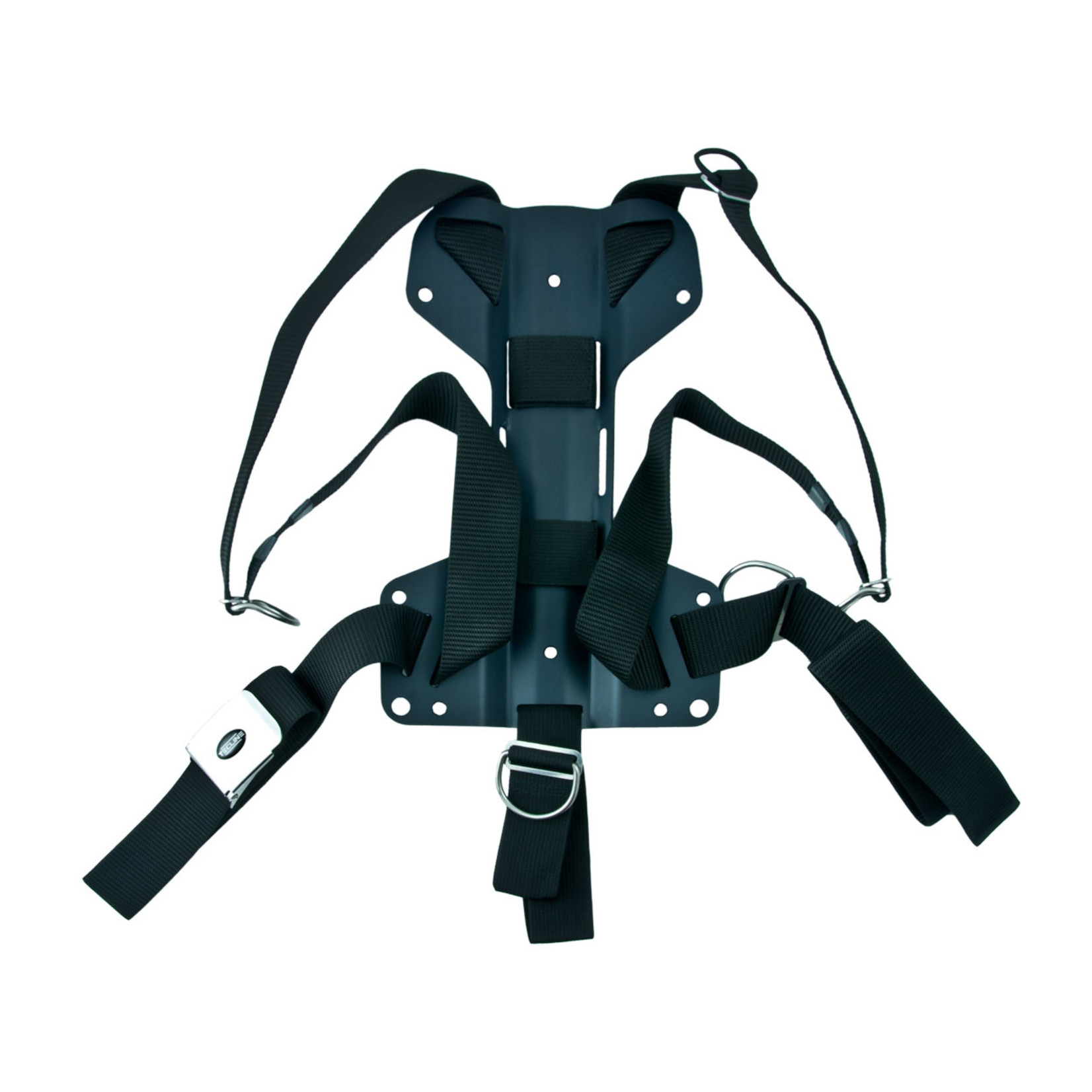 Tecline Harness Tecline DIR standard webbing - incl. 3mm aluminum backplate H MINI - weight 0,91 kg