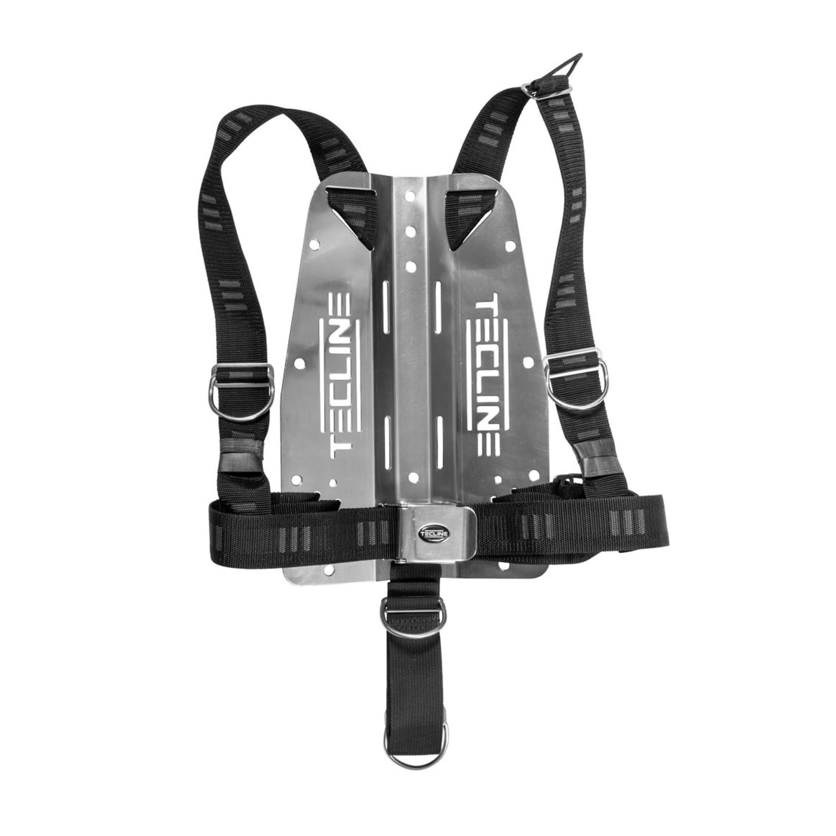 "Tecline Harness TecLine DIR soft webbing ""E"" - incl. 3mm RVS backplate"