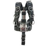 Tecline Harness Tecline Comfort standard webbing - incl. 3mm RVS backplate H MINI - weight 1,89 kg