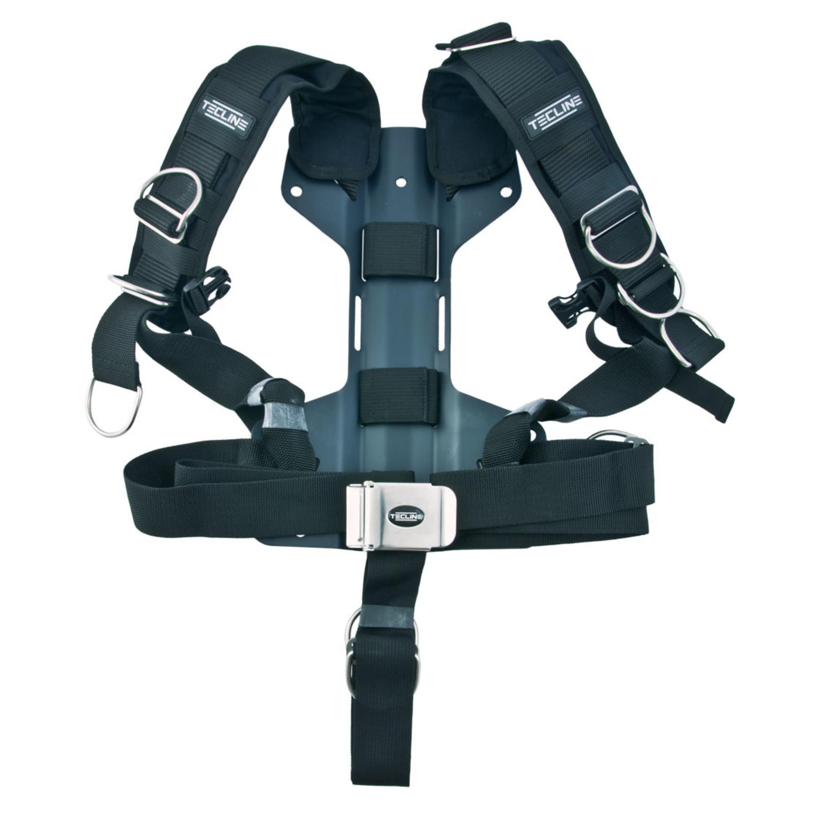 Tecline Harness Tecline Comfort standard webbing - incl. 3mm aluminum backplate H - weight 1,54 kg