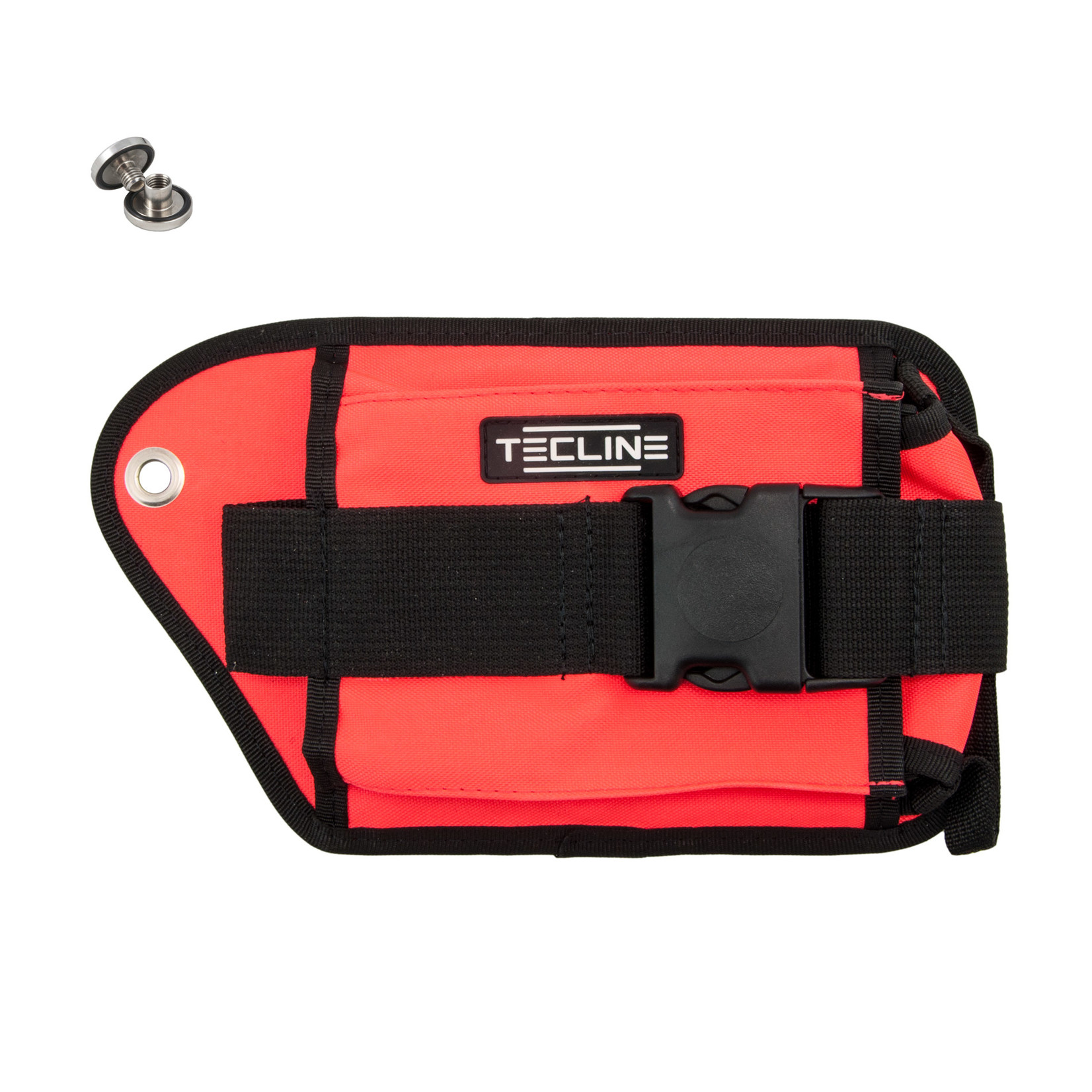Tecline Double weight pocket, orange, right - Tecline