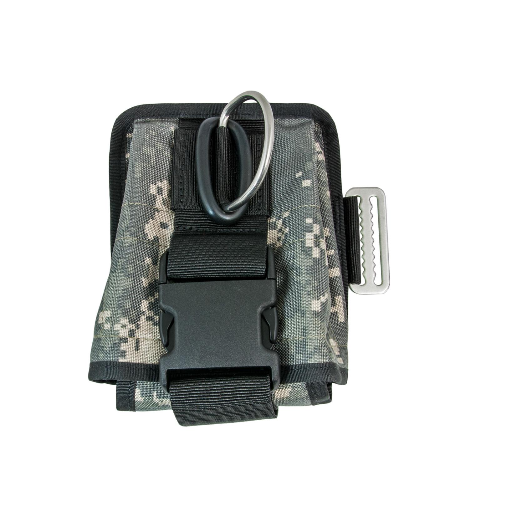 Tecline Double weight pocket soft, left, Camo  - Tecline