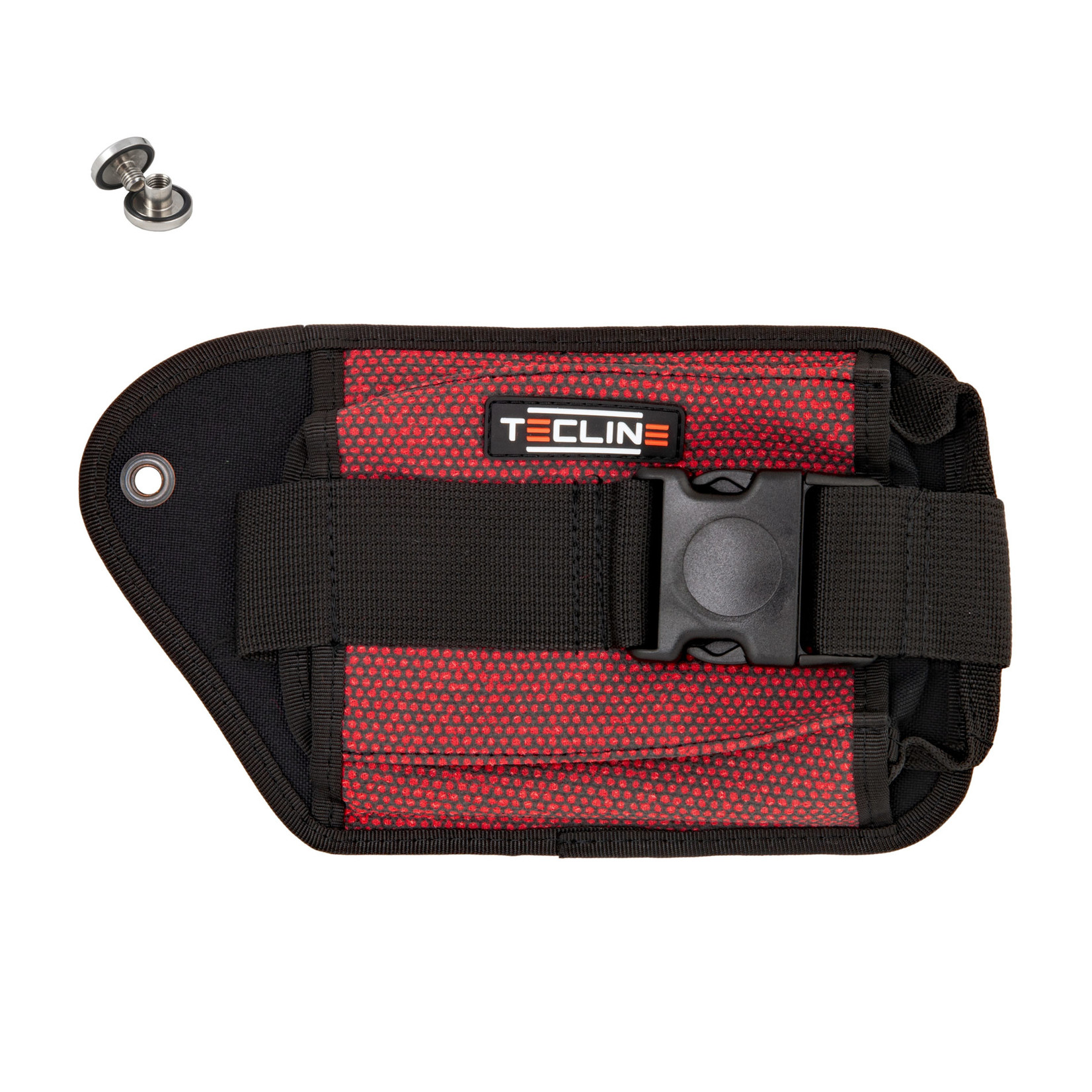 Tecline Double weight pocket Red Kevlar, right - Tecline