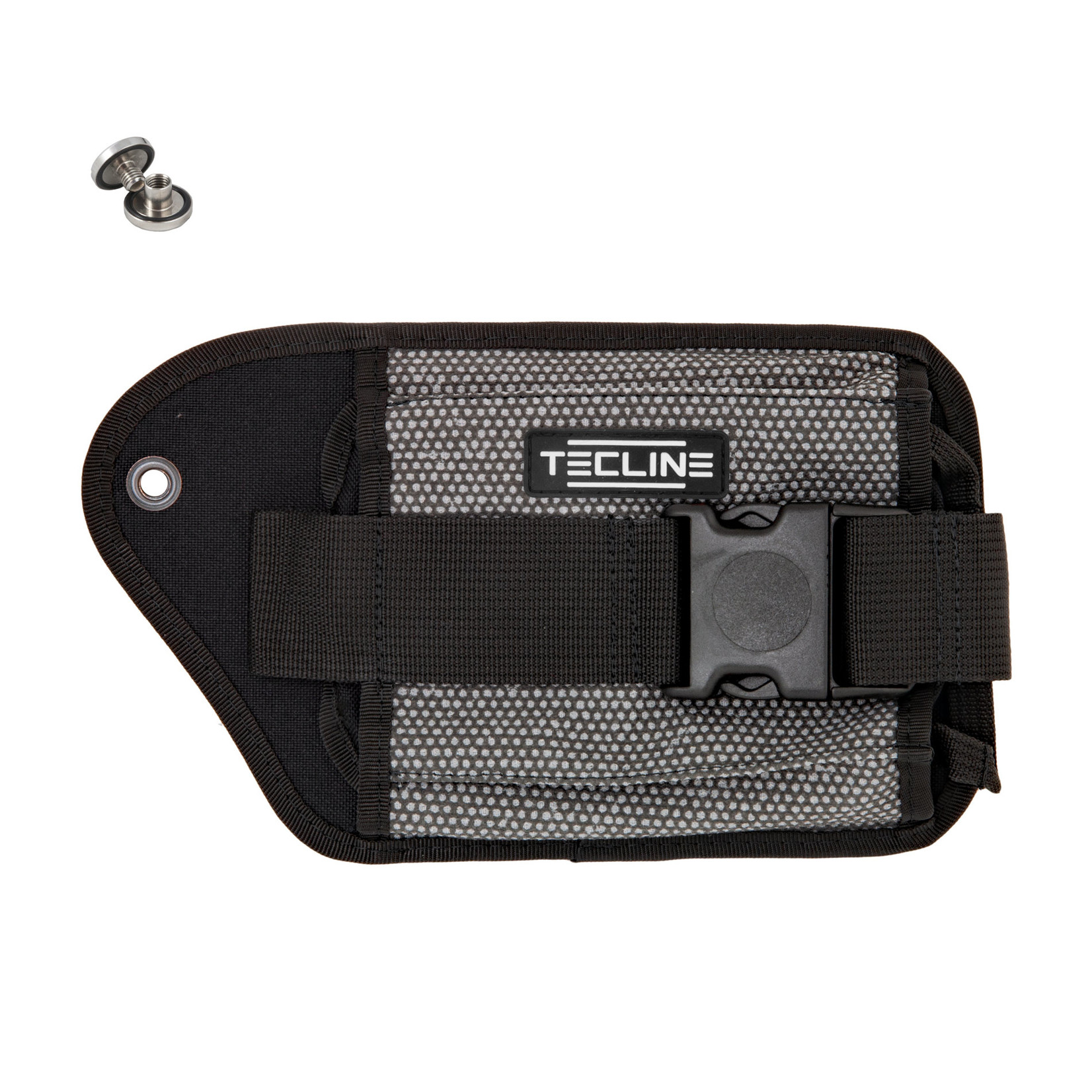 Tecline Double weight pocket Grey Kevlar, right - Tecline