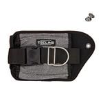 Tecline Double weight pocket Grey Kevlar, left - Tecline