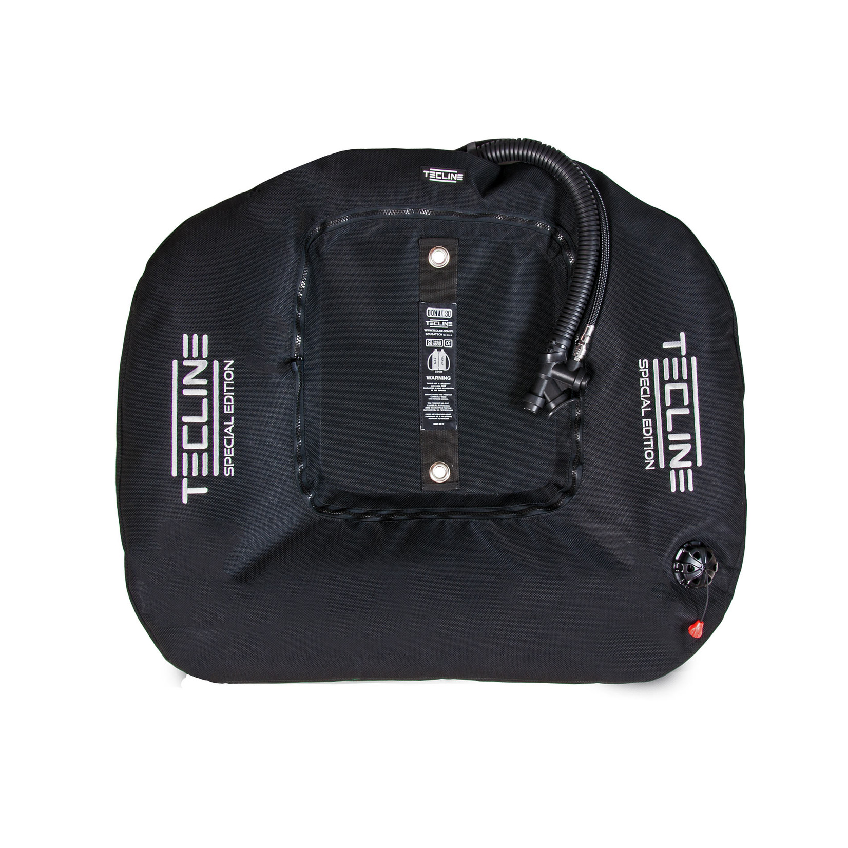 Tecline Donut 30 Special Edition, black (30kg/68lbs) for 2 x 18L