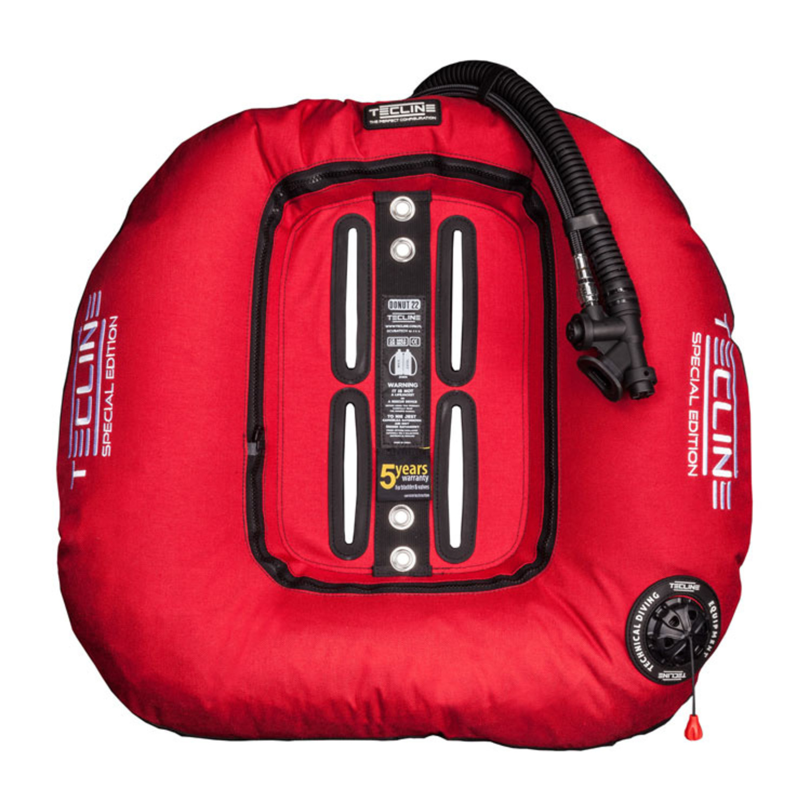 Tecline Donut 22 Special Edition Red (22kg/50lbs) for 2 x 12L