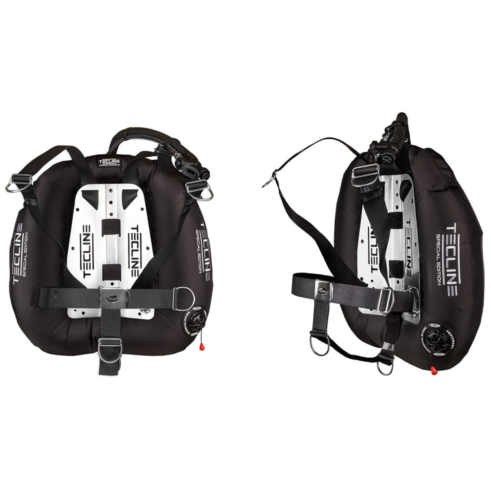 Tecline Donut 22 Special Edition black, with DIR harness &  BP