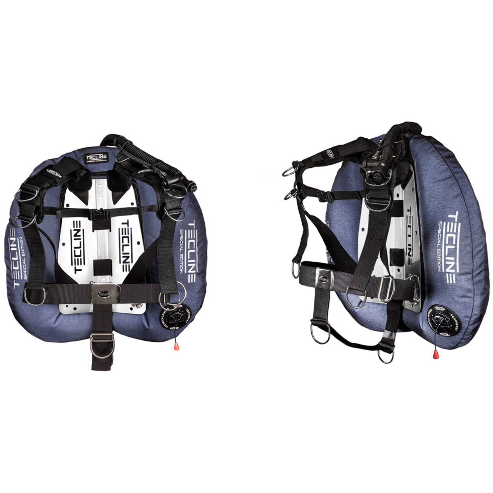 Tecline Donut 22 Specal Edition blue, with Comfort harness  & BP