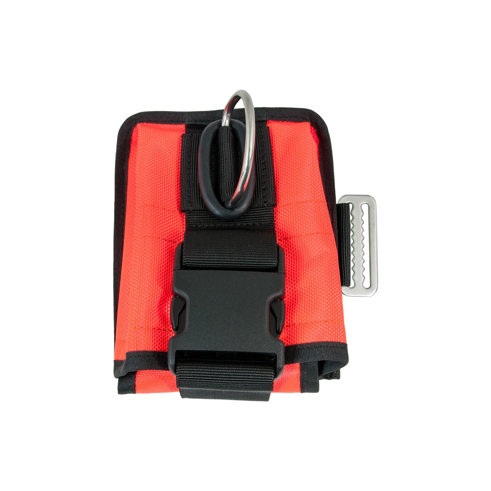 Tecline Double weight pocket soft, left, orange  - Tecline