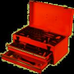 FX Tools FX Tools Advanced Gereedschapskist 47 x 24 x H23 cm gevuld met gereedschap - 196 delig
