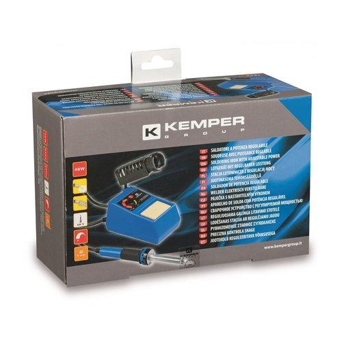 Kemper Kemper soldeerstation met verstelbare kracht (0-48 Watt) en temperatuurregelaar 0-400 °C