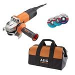 AEG AEG WS10-115S Haakse slijpmachine – 1000W – Ø115mm