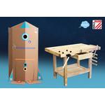 Holzmann Holzmann Kinderwerkbank WB106Mini - 106x61x70 cm