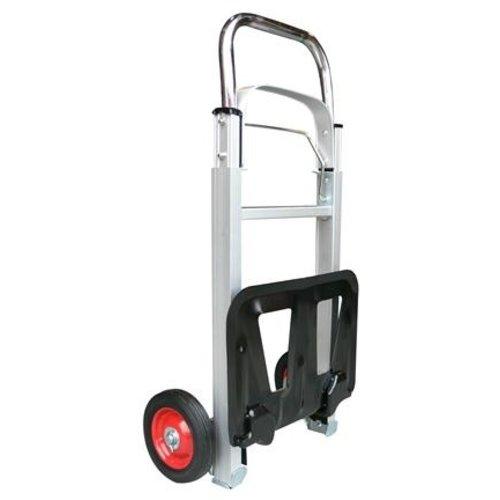 T4All T4ALL Aluminium Steekwagen - 70kg - 72x41x11cm - Draagvlak 35 x 24 cm