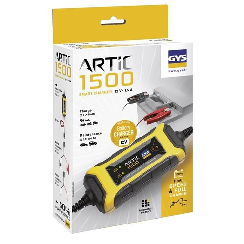 GYS GYS Acculader voor 12V accu's - ARTIC 1500 - IP65