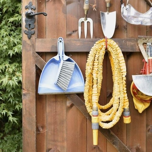 Hozelock Hozelock SuperHoze uitrekbare slang 2,5 tot 7,5 meter inclusief koppelstukken