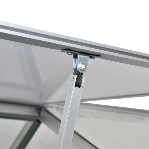 VXL Tuinkas versterkt aluminium met basisframe 4,6 m²
