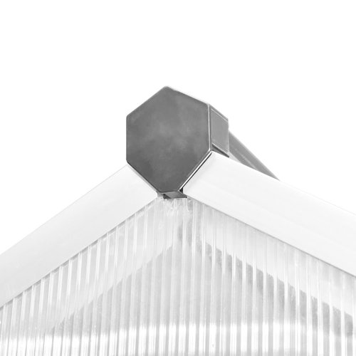 VXL Broeikas versterkt aluminium 10,53 m²