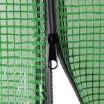 VXL Tuinkas met schappen 143x143x195 cm staal