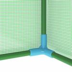 VXL Kas met stalen frame 0,5 m² 1x0,5x1,9 m