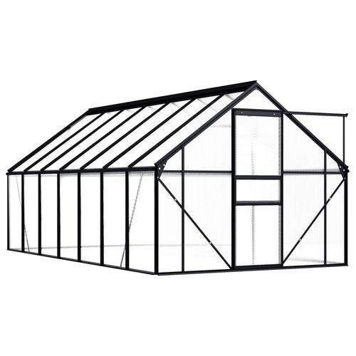 VXL Broeikas 8,17 m² aluminium antraciet