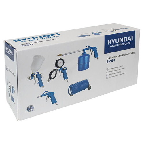 Hyundai Hyundai compressor accessoires - Vloeistofspuit - Luchtdrukpistool - Verfspuit