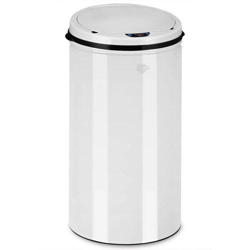 Monzana Prullenbak met sensor 56 liter wit
