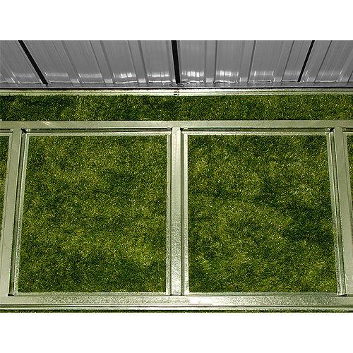 Deuba Deuba Tuinhuis antraciet metaal 196 x 122 x180 cm