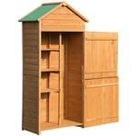 Sunny Tuinhuis naturel hout 89 x 50 x 190 cm