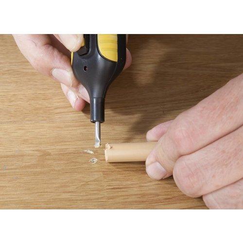 Complete Reparatieset voor laminaat, parket en andere houten meubels - 25 delig
