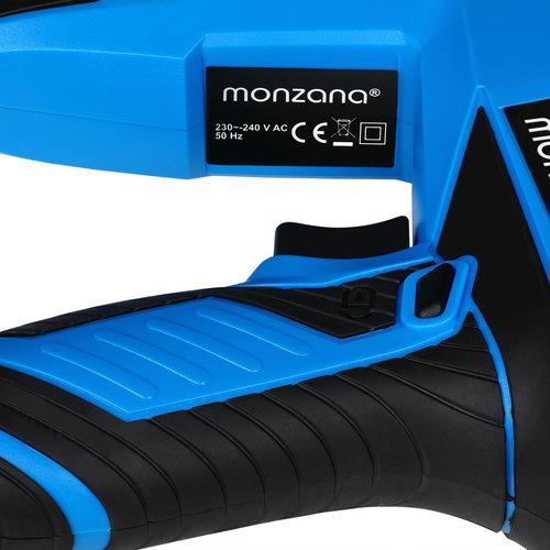 Monzana Monzana Elektrische tacker - incl. 400 nietjes + 100 spijkers