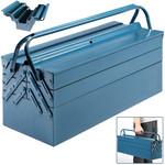 Deuba Deuba Stalen gereedschapskoffer blauw 53x20x20cm