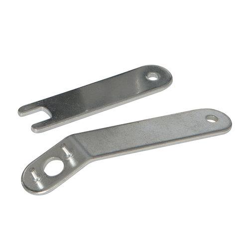 Silverline Silverline Pneumatische haakse slijpmachine 100 mm