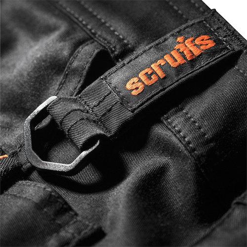 Scruffs Scruffs Trade Flex werkbroek, zwart 30R
