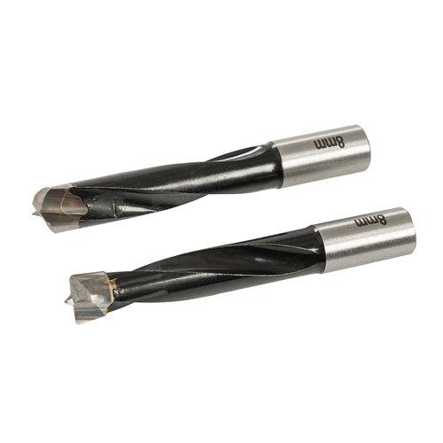 Triton Triton 8 mm deuvelmachine boor bits, 2 pk. 2 pk.