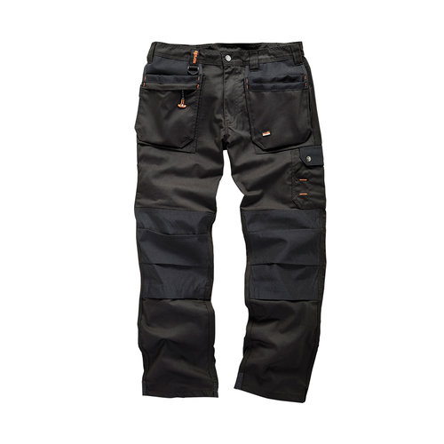 Scruffs Scruffs Werkbroek 'Worker Plus', zwart 30L