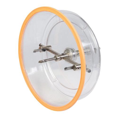 Silverline Silverline Verstelbare gatenzaag met stofkap 40 - 200 mm dia.