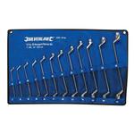 Silverline Silverline 12-delige offset ringsleutel set 6 - 32 mm