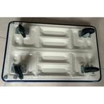 Herzberg Professional Tools Herzberg Trolleywagen met Platform - Inklapbaar - 73x47x70cm